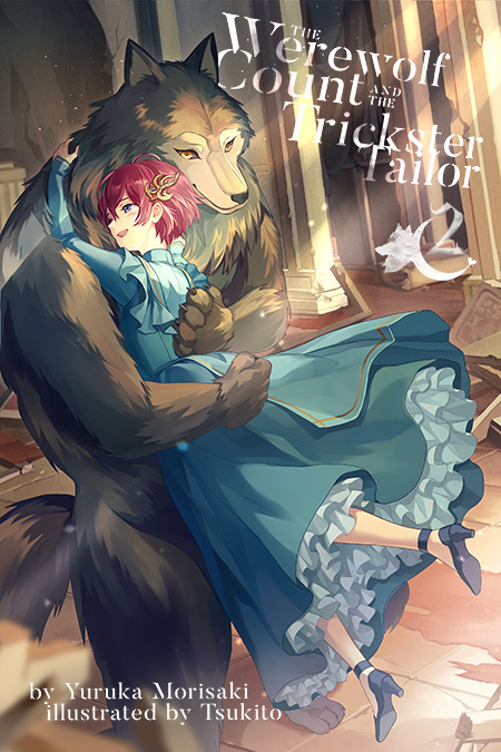 The Werewolf Count and the Trickster Tailor Volume 2 Cover