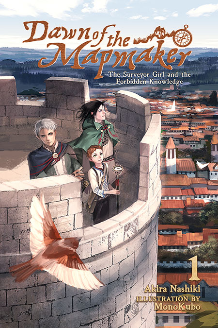 Dawn of the Mapmaker: The Surveyor Girl and the Forbidden Knowledge Cover